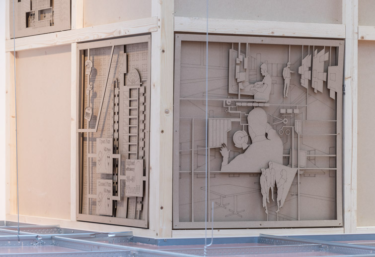 Collaboratively-designed architectural panels - detail photographer, 10 of 10