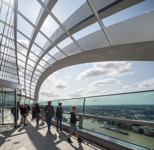 The viewing deck of the Sky Lounge at Fenchurch St, London, 12 of 12