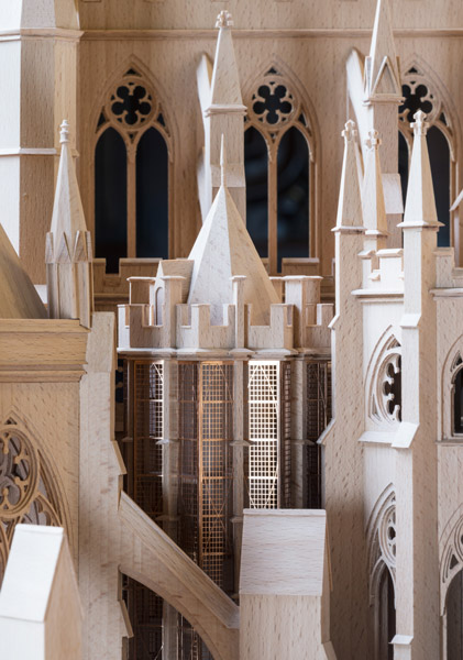 Extension to the Westminster triforium model, by Ptolemy Dean Architects, 18 of 18