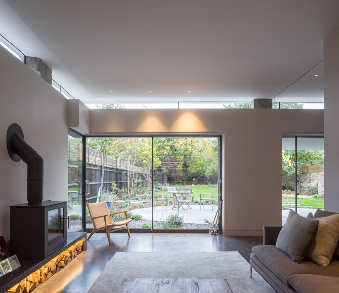 Seating area with log burner, 19 of 24