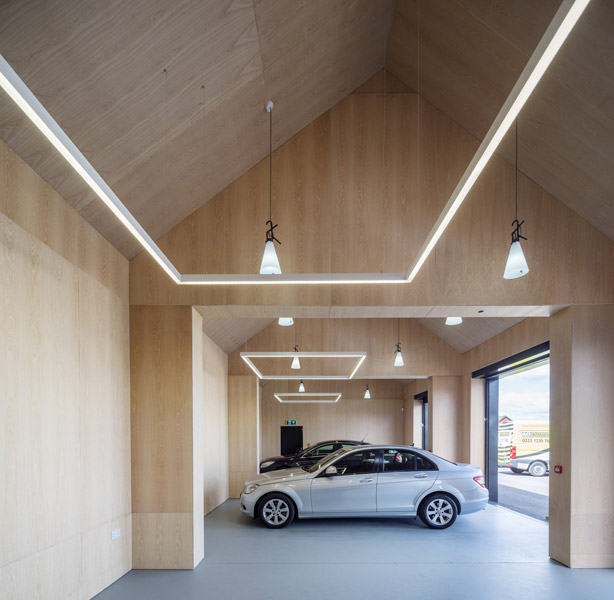 Car showroom interior photography, 02 of 10