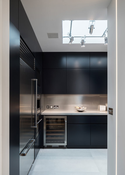 The kitchen interior entrance view, 07 of 19