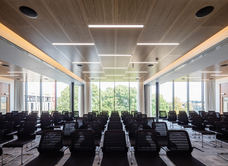 View of the lecture theatre, 14 of 26.