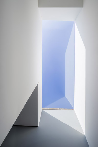 Photograph looking up at the roof light, 16 of 19