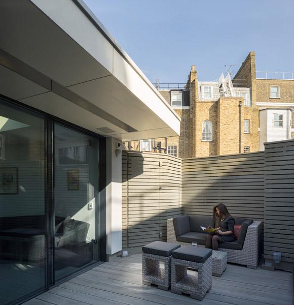 Sun terrace architectural photo, 17 of 19