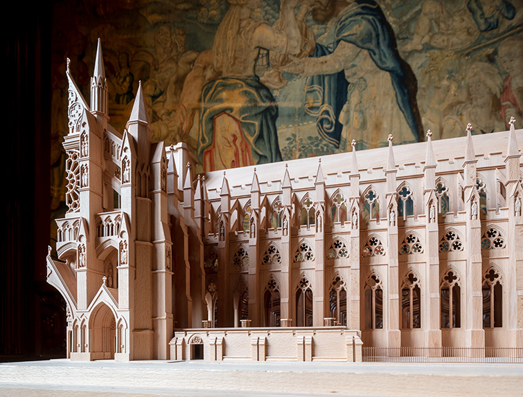 Architectural model photographer, for Westminster Abbey and Ptolemy Dean Architects, 29 of 40