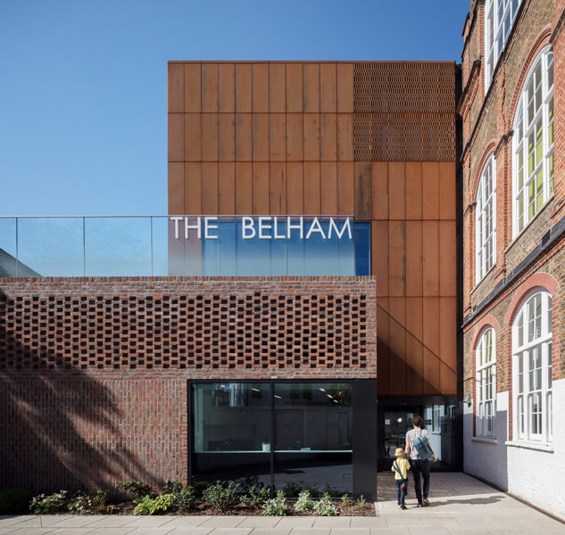 Photograph of the Belham School, by Haverstock Architects, London, 31 of 40