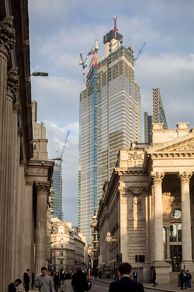 22 Bishopsgate, photographed from Bank, London, 01 of 14.