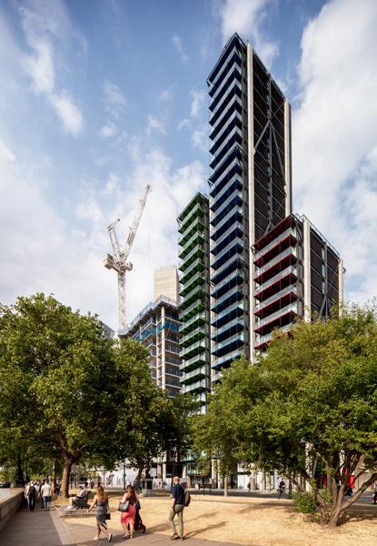 Merano housing tower, London, 01 of 08.