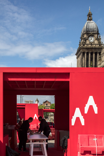 Redscape Pavilion by McCloy and Muchemwa, 01 of 05.