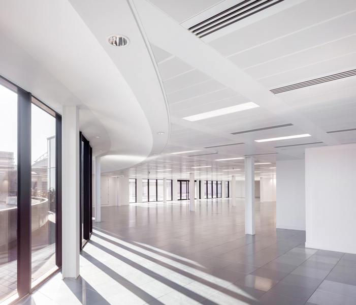Office floors, designed by EPR Architects, London, 02 of 10.