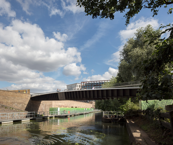 The bridge spans over Somerstown Canal, 03 of 16.