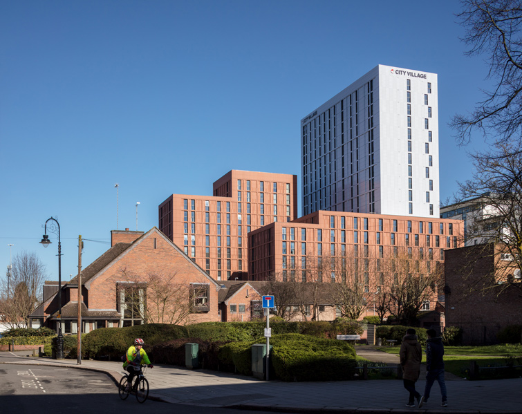 New student housing in Coventry, 03 of 08.