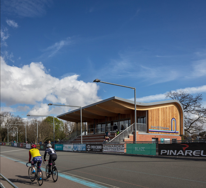 Photograph of the Herne Hill Velodrome, London, 04 of 14.