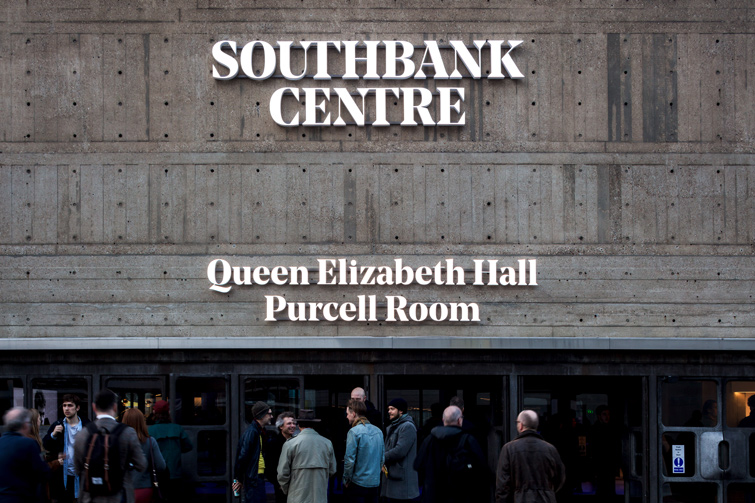 Queen Elizabeth Hall, Purcell Room signs, 04 of 12.