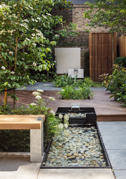 Garden pools and timber decking, 05 of 13.