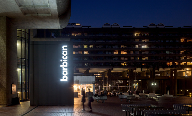 Iconic Barbican Centre signage, 06 of 12.