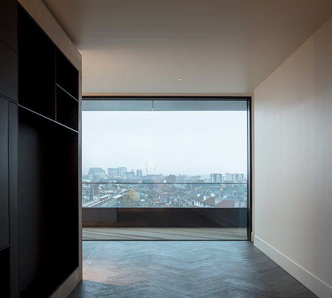 Image showing custom joinery and impressive views across London, 06 of 08.