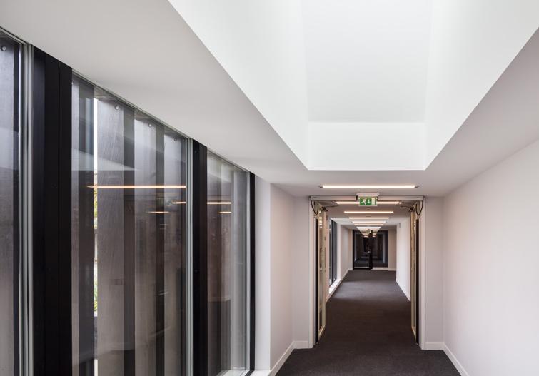 Interior corridor view, 06 of 10.