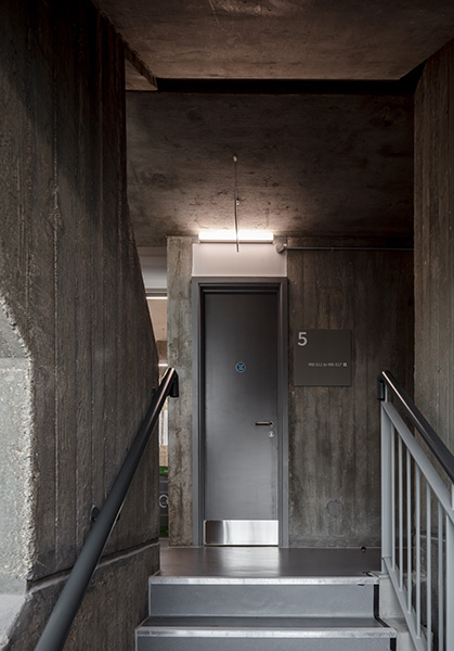 Stunning concrete from the original development is revealed and celebrated, 06 of 11.