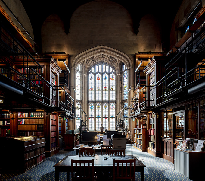 Interior photography of the old library, 07 of 07.