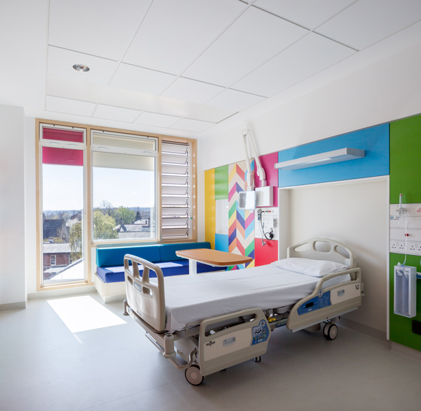 Interior photography in the hospital, 08 of 17.