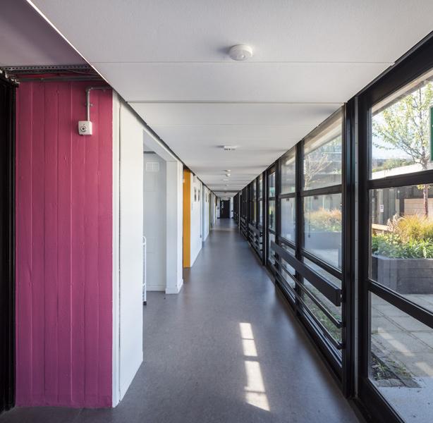 Architectural corridors photographer, London, 10 of 10.