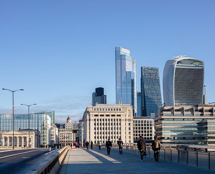 View of 22 Bishopsgate from London Bridge,10 of 14.