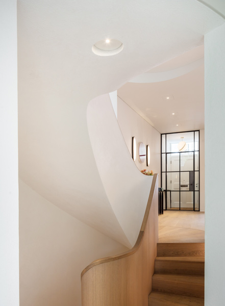 Entrance hall featuring timber steps, 11 of 27.