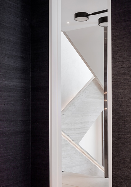 The design features timber panelling and exquisite marble, 11 of 20.