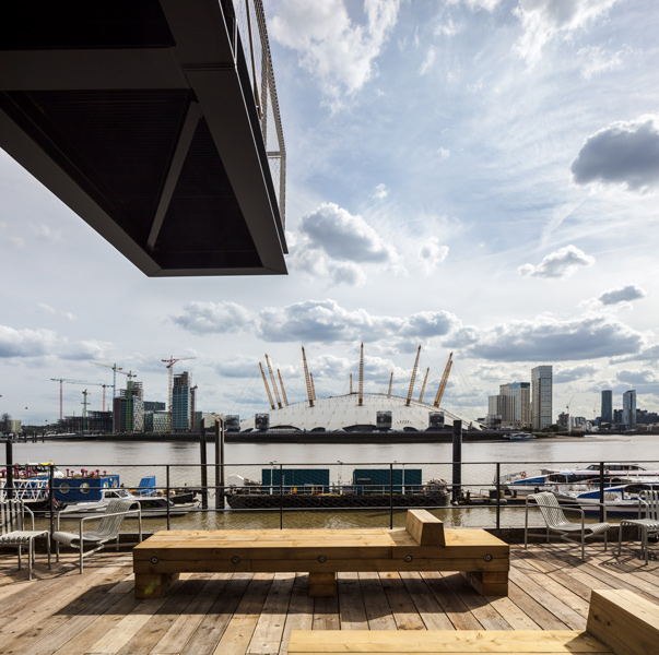 View of East London from the timber terrace, 13 of 20.
