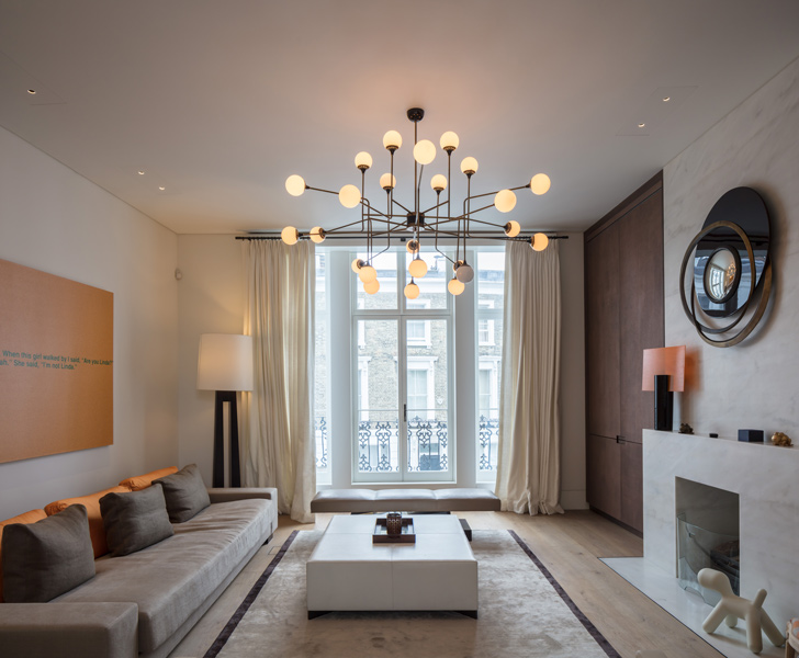 Interior photograph of the stunning London living space, 15 of 27.