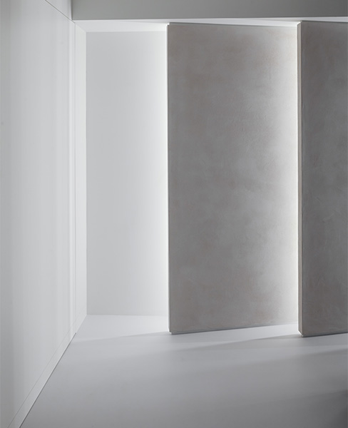 Gallery features beautiful staggered panels  with integrated lighting, 17 of 17.