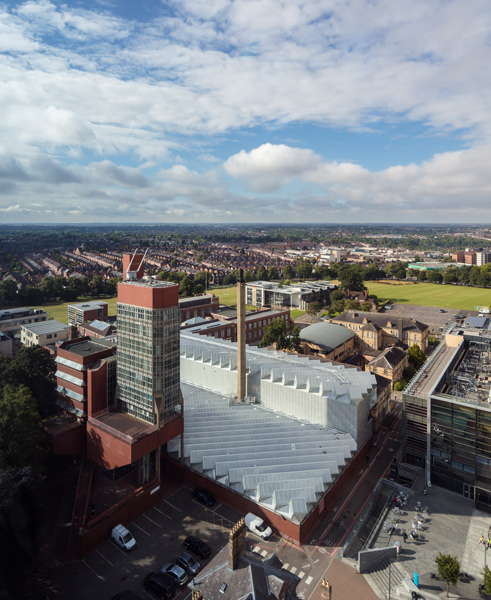 Aerial photograph of Leicester Engineering, 16 of 21.