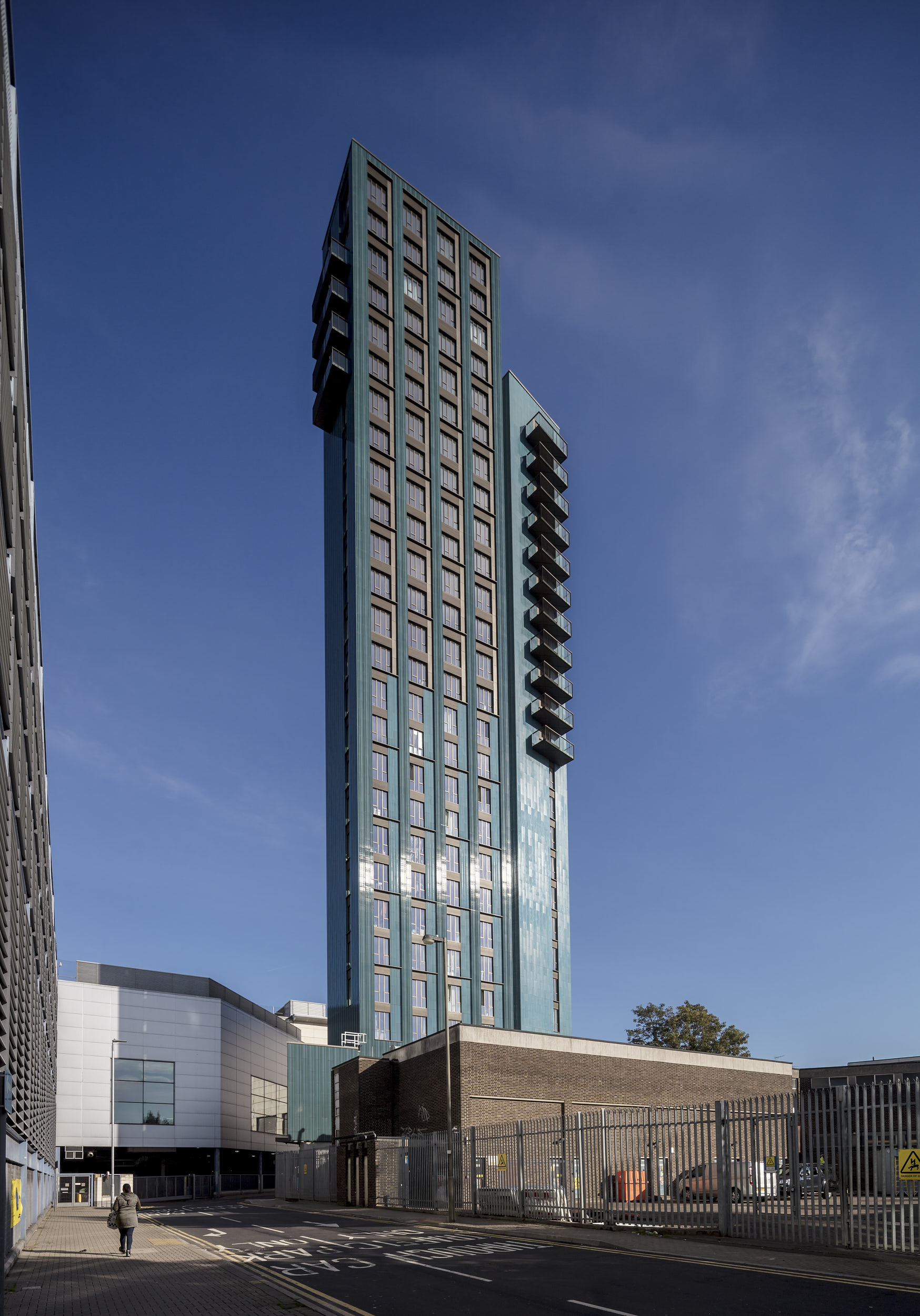Tower design is by London-based architects Metropolitan Workshop.