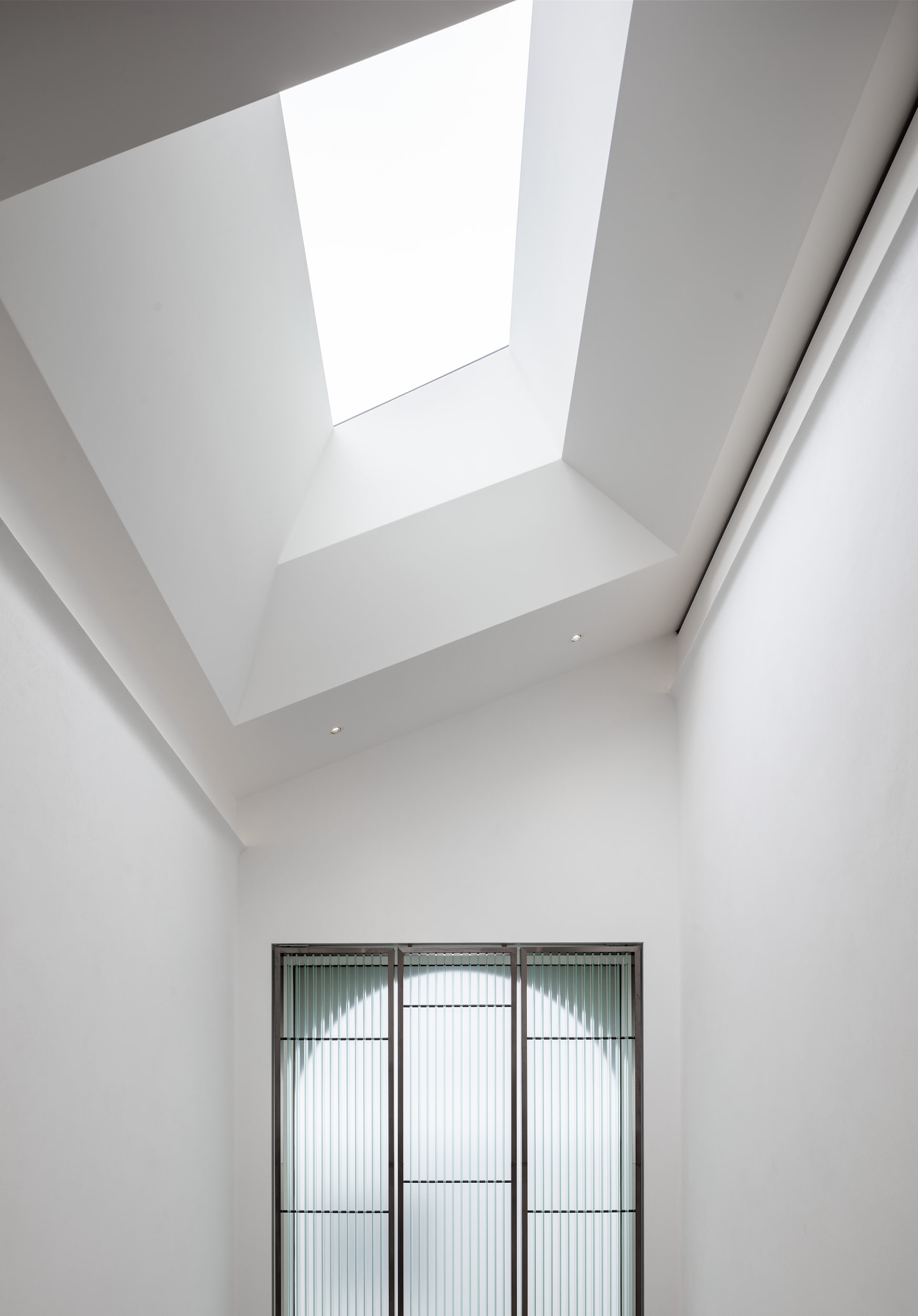 Minimalist design is by London-based 23 Architecture.