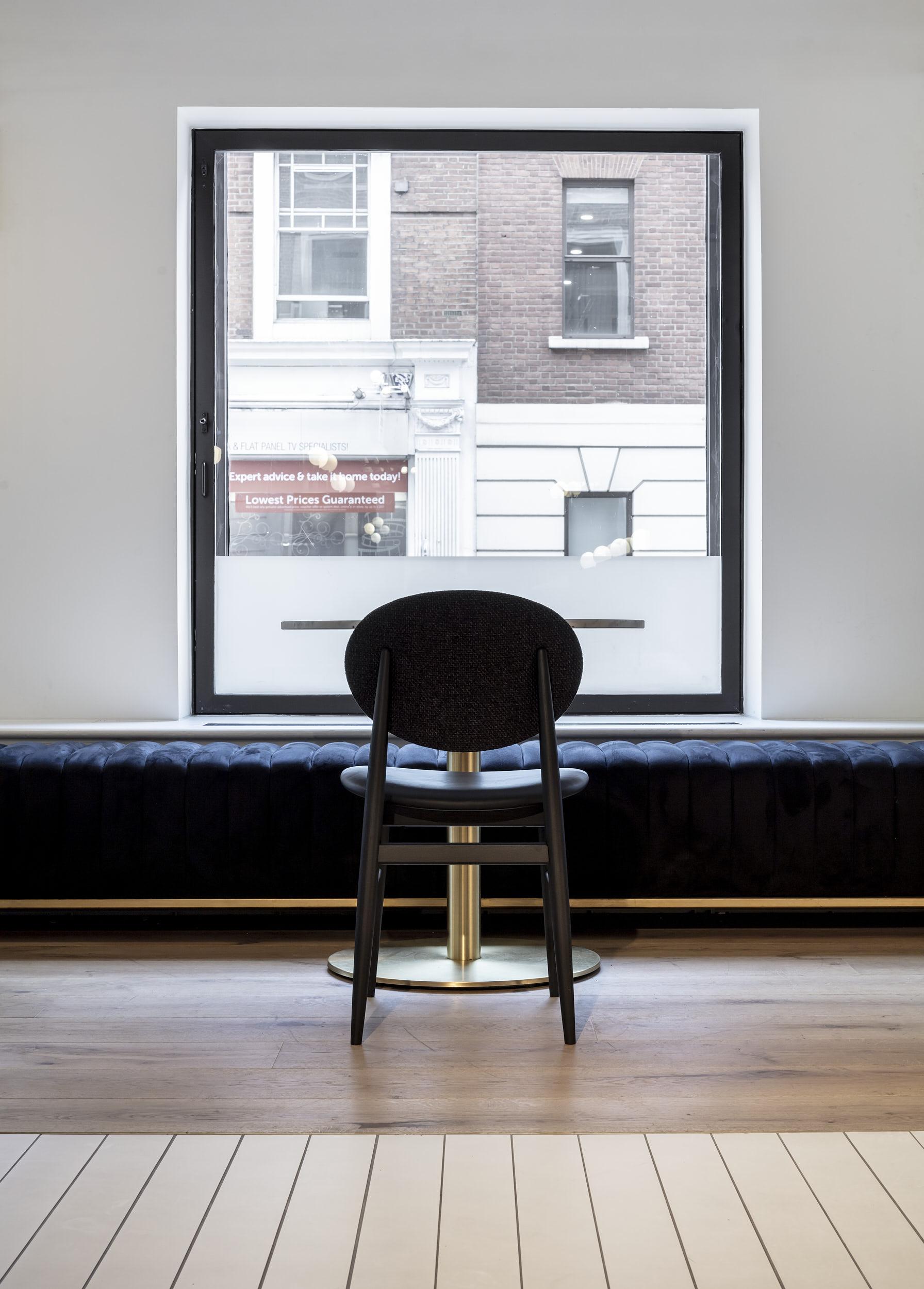 The interiors feature minimalist design and beautiful furniture.