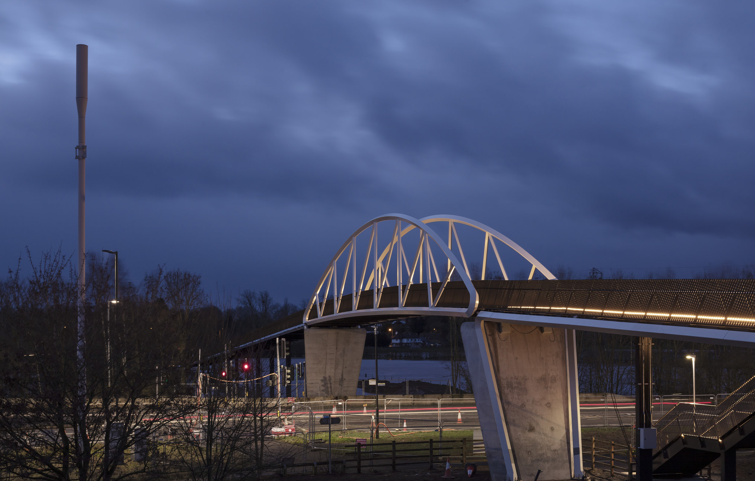 The design was manufactured off-site for speed and to minimise possible traffic disruption.