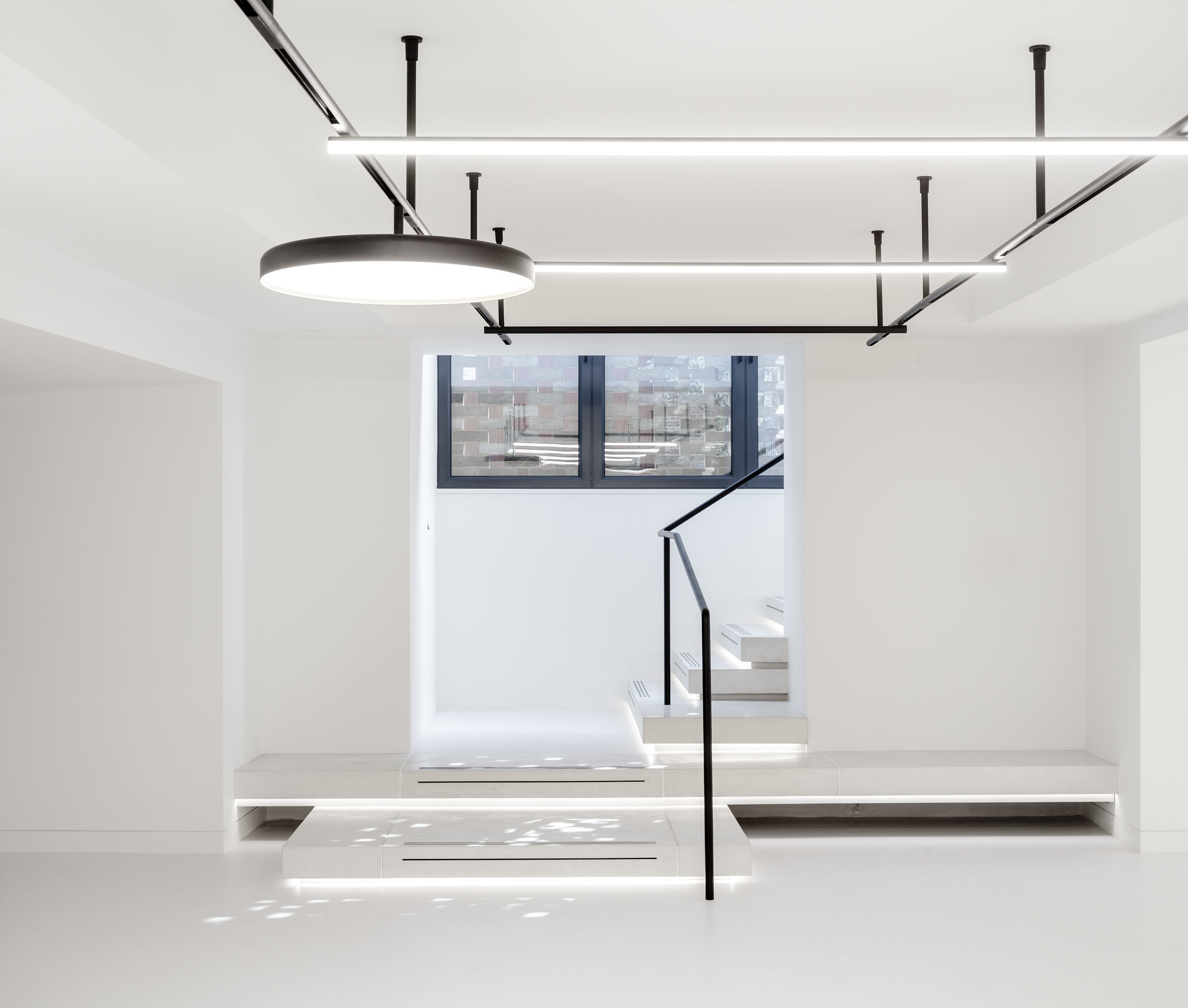 Photography of the Notting Hill office fit-out.
