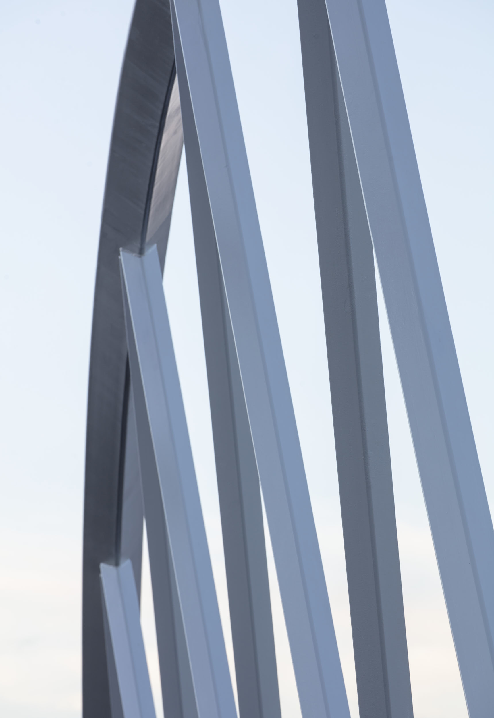Prefabricated steel detailing photograph.