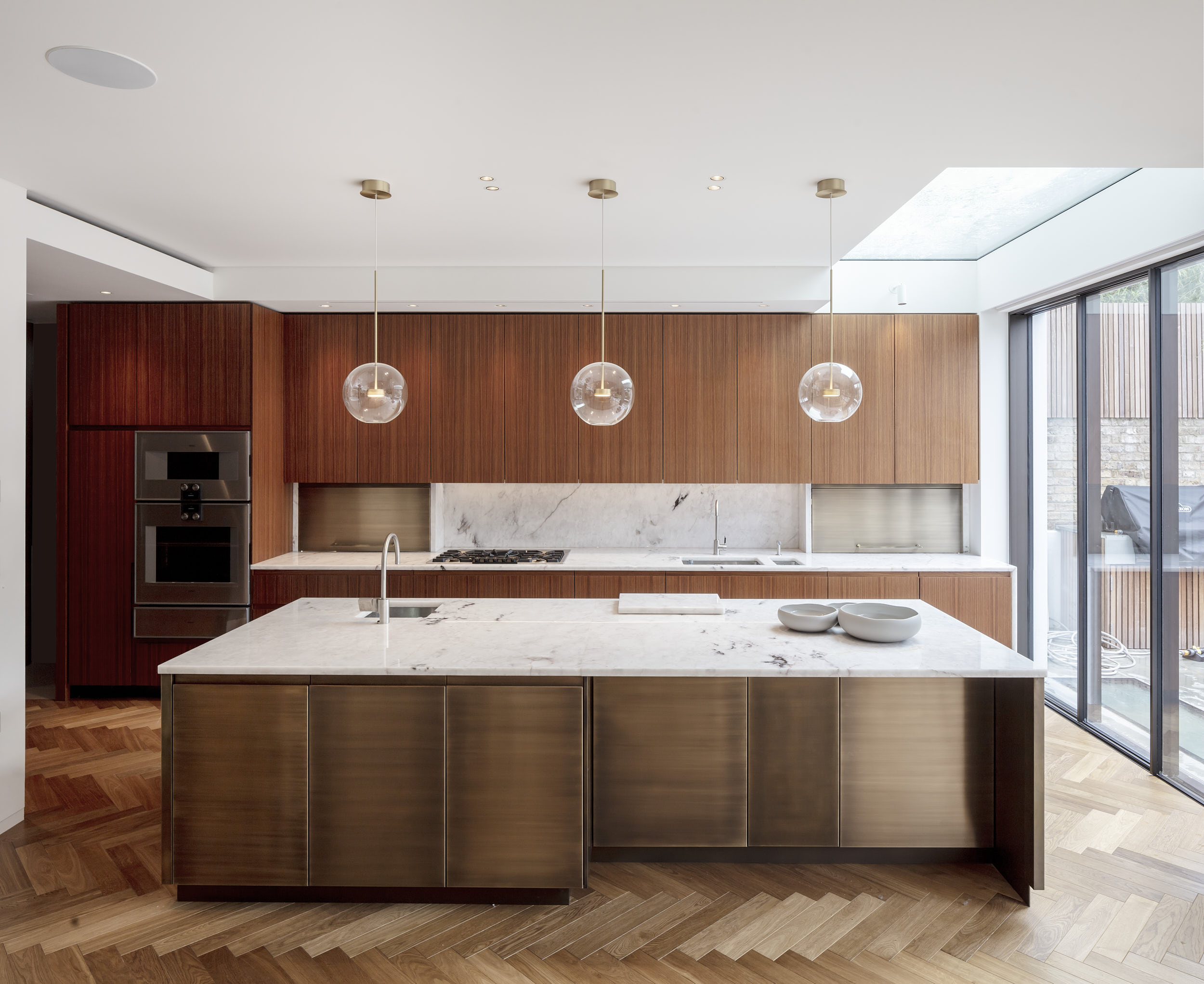 Kitchen interior photography.