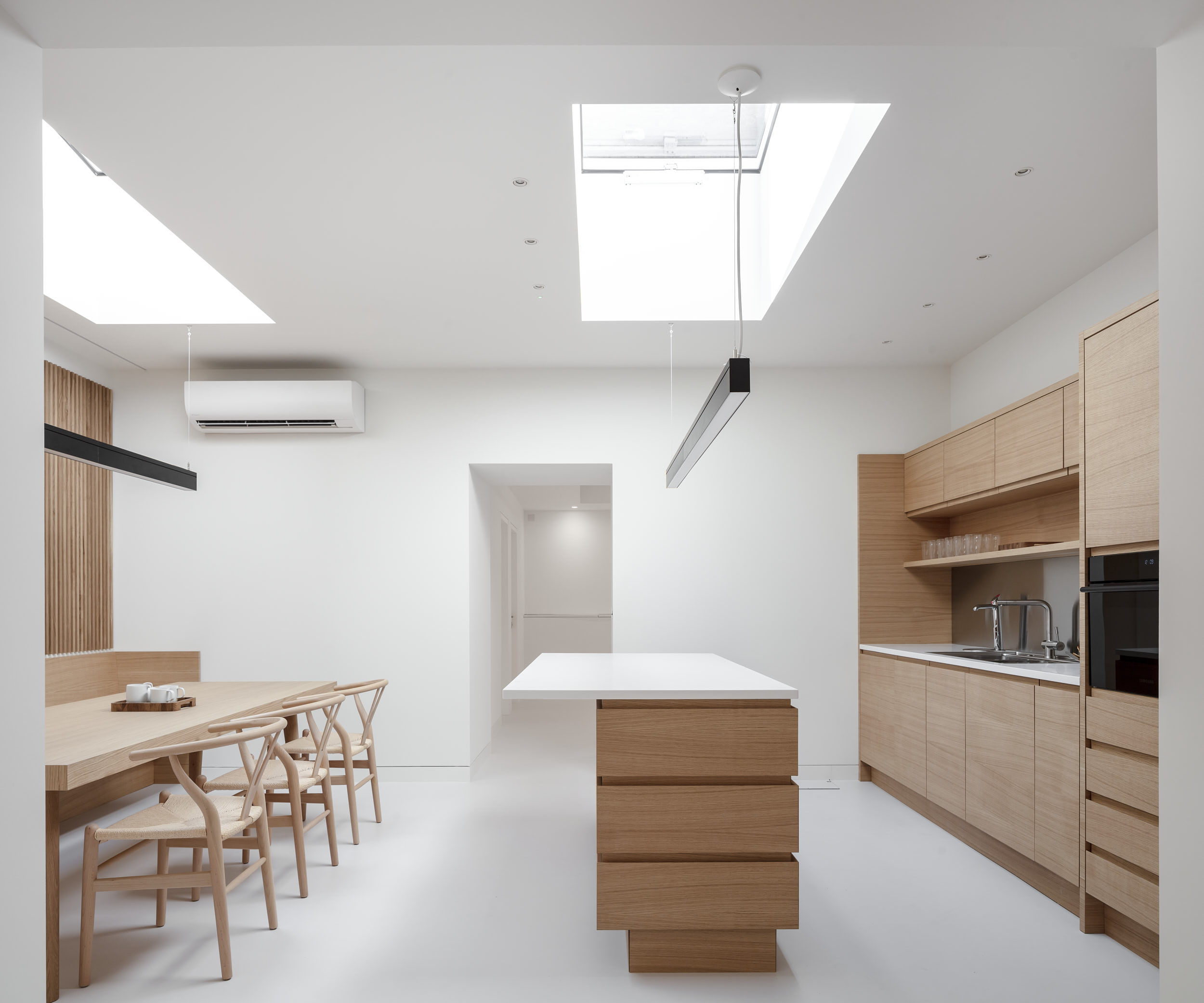 London interior kitchen architectural photography.