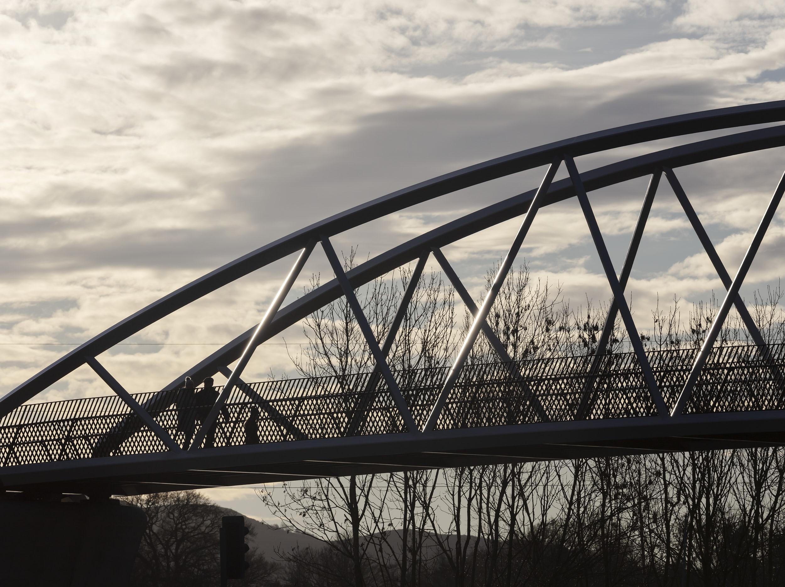 Exterior bridge photograph.